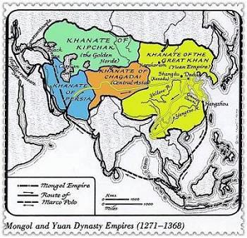 Mongol and Yuan Dynasty Empires