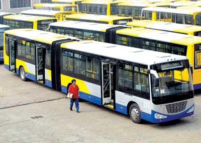 Buses in Beijing