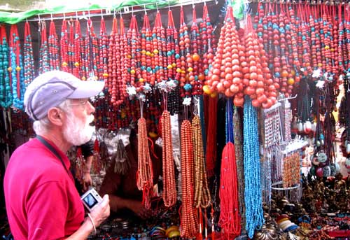 Various Goods in Barkhor