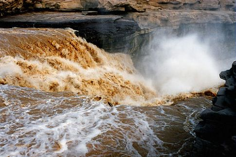 Hukou waterall