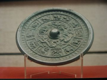 bronze mirror of Han Dynasty