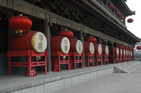 drums in Drum Tower