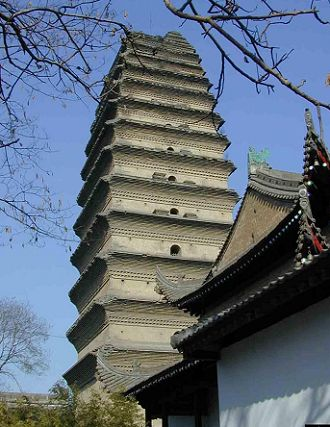 the small wild goose pagoda
