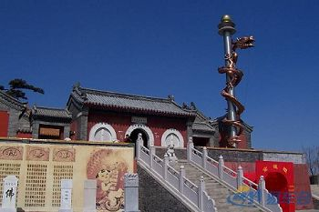 Temple on Miao Feng Shan