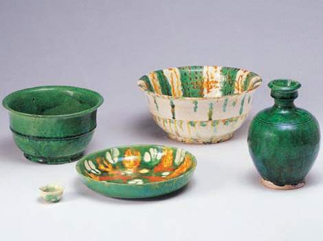 Tang Tricolor Pottery