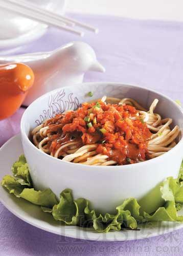 hot dry noodles