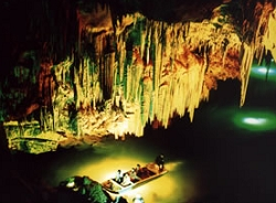 Boating in Furong Cave