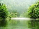 Honghai Lake in Mist