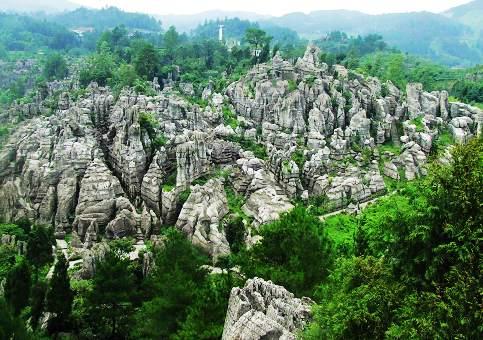 Wansheng Stone Forest