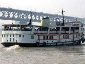 Ferry in Wuhan