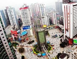Yangjiaping walking street