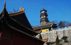 Guangji Temple in Distance