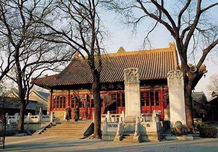 Guangji Temple in Winter