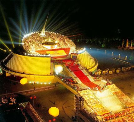The China Millennium Monument