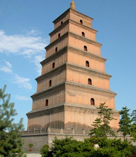 Big White Goose Pagoda