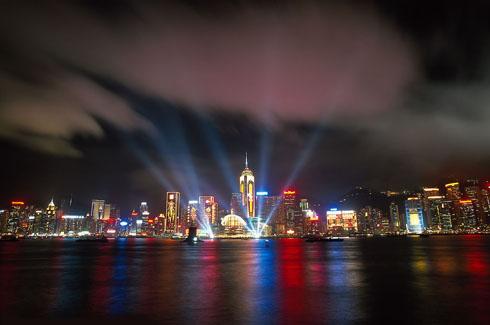 Night View of Zhuhai
