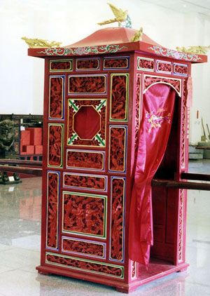 Wedding Sedan Chair