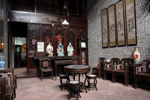 Xiguan Mansion -- the main hall