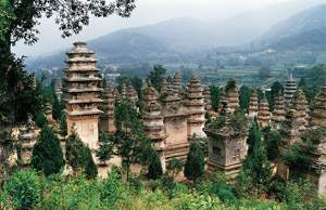 Pagodas in Shaolin Temple
