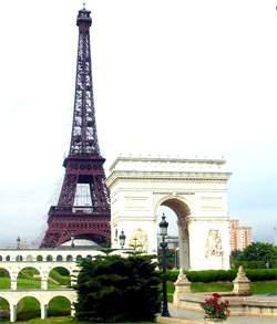 Arc de Triumphed & Eiffel Tower