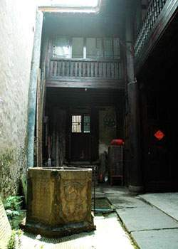 The architecture in Hongjiang Ancient Commercial City