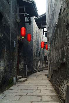 Stone Slab Path in Hongjiang Ancient Commercial City