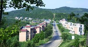 New look of the rural area in China