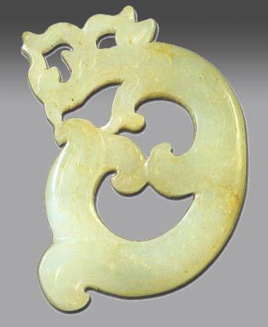Dragon shape Jade