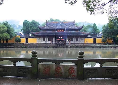 Heavenly King Hall of King Asoka Temple