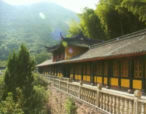 The Corridor in the Temple