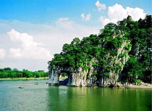 Elephant Trunk Hill