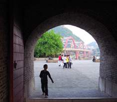 Entrance in East Gate Tower