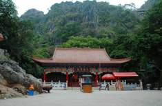 Temple in Liufeng Mountain Scenic Area