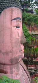The Head of the Giant Buddha