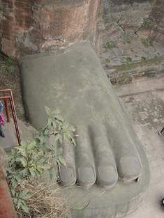 The Foot of Leshan Giant Buddha