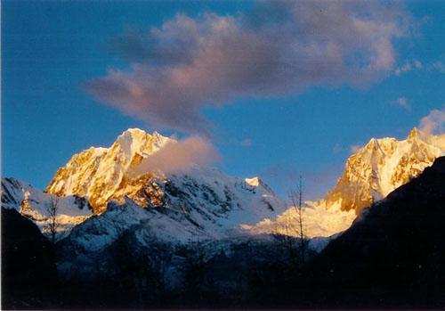 The Golden Snow Peak