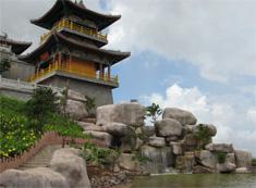 Architectures in Wenbi Peak