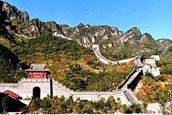 Huangyaguan Pass of Great Wall