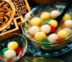 Fruit-stuffed Tangyuan