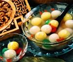 Fruit-stuffed Tangyuan