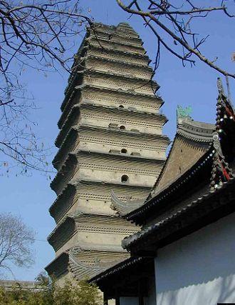 The Smal Wild Goose Pagoda