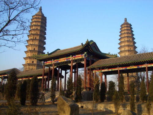 The Twin Pagodas Temple