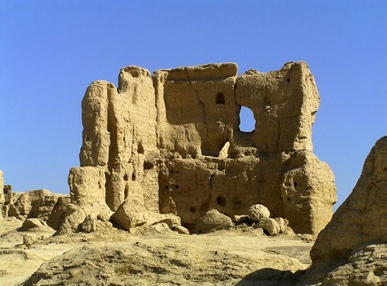 The Ruins of Jiaohe Ancient City
