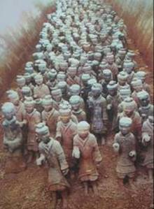 The Xuzhou Terracotta Warriors and Horses of Han Dynasty