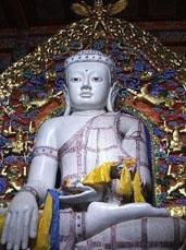 Silver Buddha