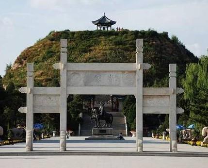 Zhaojun Tomb