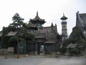 Chinese-style mosque