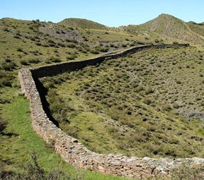 The Great Wall of Qin Dynasty