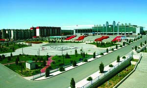 Baotou East Station Square