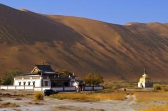 Badain Jaran Temple